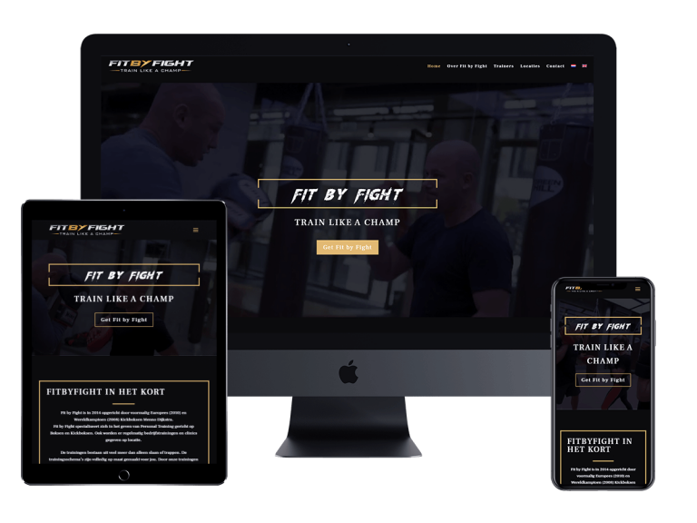 Fit by fight website project