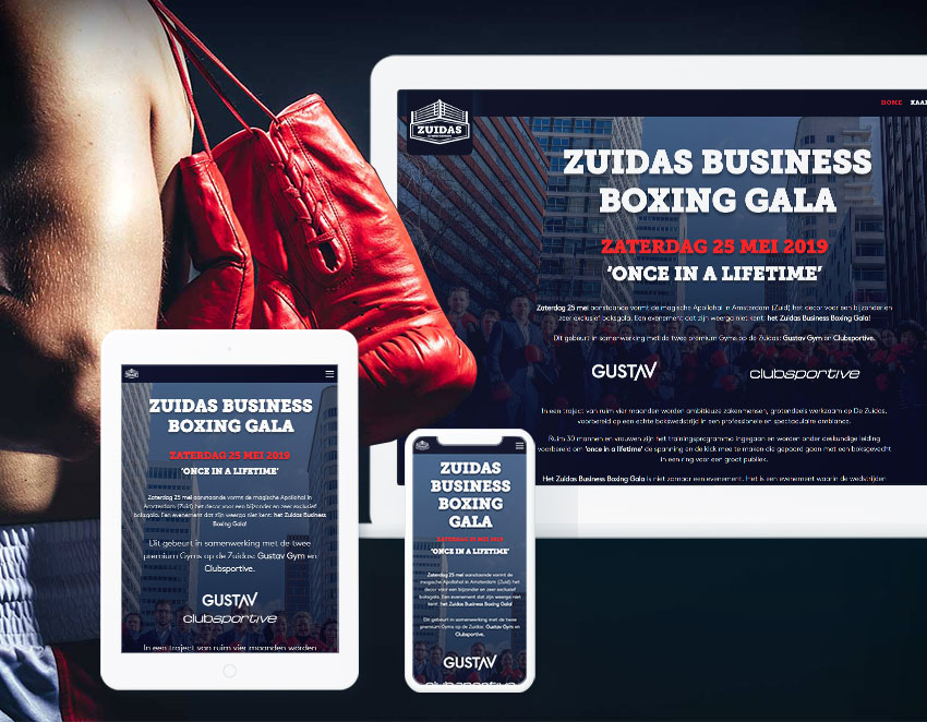 Zuidas Business Boxing